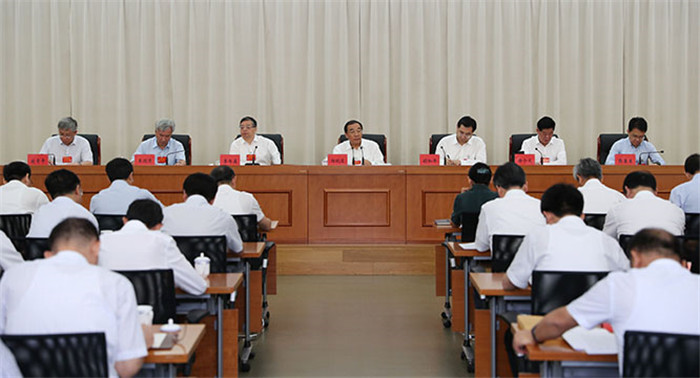 杨晓渡:提高政治站位 深化专项治理 为打赢脱贫攻坚战提供坚强纪律保障